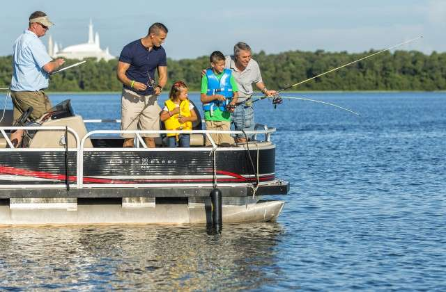 Fishing at Walt Disney World