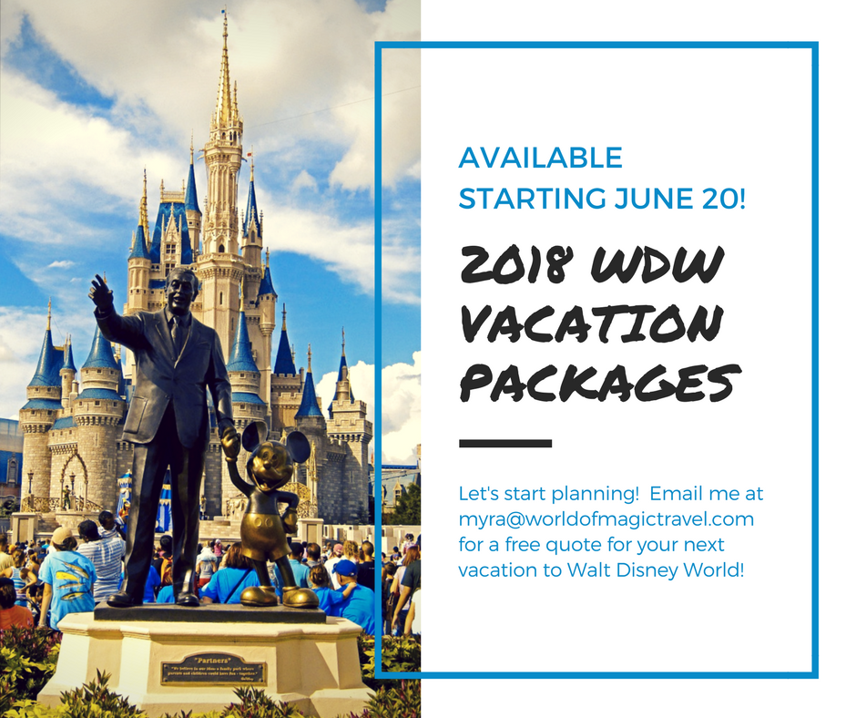 disney world trip packages 2018