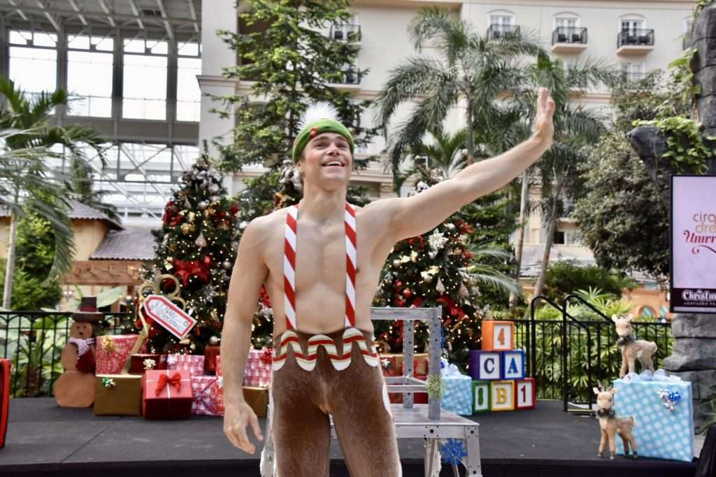 The Polar Express For Christmas at the Gaylord Palms