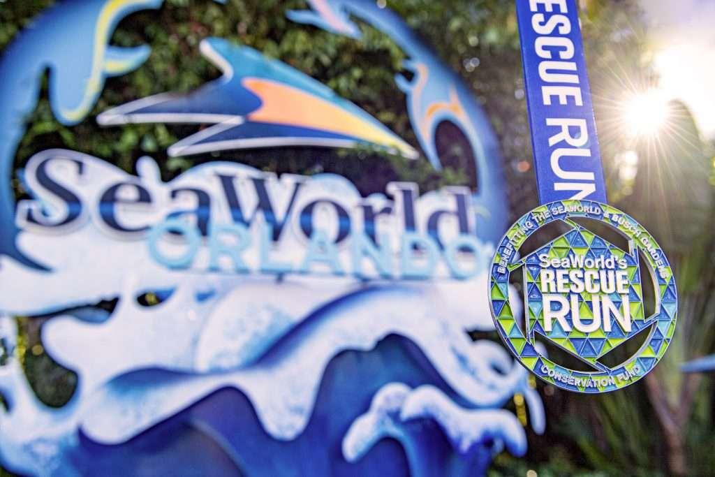 Seaworld Rescue Run metals